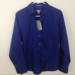 Chico's Wrinkle Resistant Lorena LS Blouse Shirt